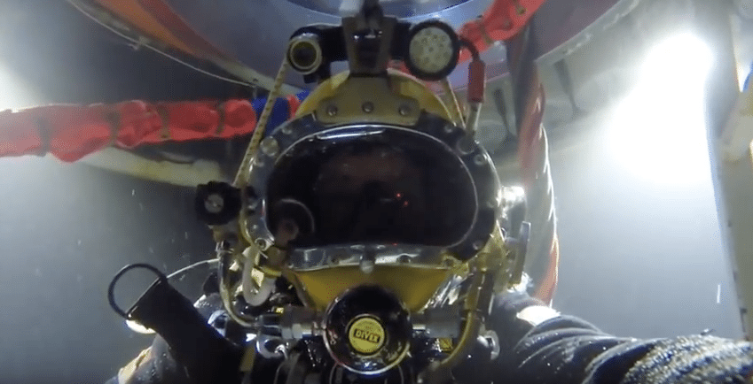 commercial diving tribute video